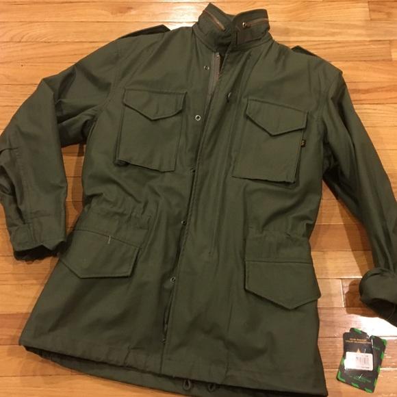 c0c7d2034a6 Alpha Industries Men s M-65 Field Coat w Lining